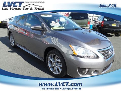 Pre-Owned 2015 NISSAN SENTRA SR NAVIGATION  SEDAN