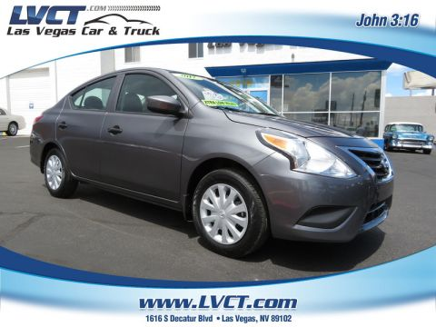 Pre-Owned 2017 NISSAN VERSA 1.6 S  SEDAN